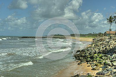 Negombo, Sri Lanka - sea and ocean
