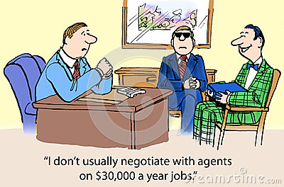 Negotiate with agents