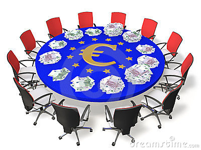 Negotiating table
