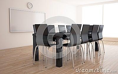 Negotiations room