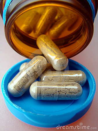Nehmen Sie eine Pille
