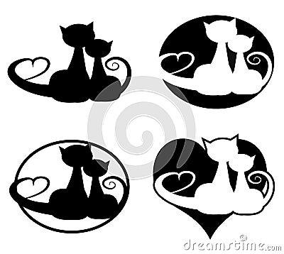 Nei gatti di amore
