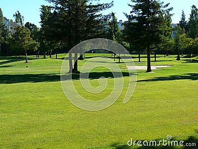 Neighborhood golf course