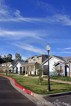 Free Neighborhood Houses Royalty Free Stock Photos - 25778