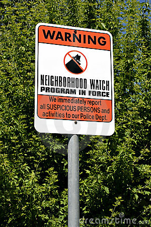 Free Neighborhood Watch Stock Photos - 158603