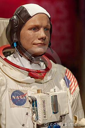 Neil Armstrong Editorial Stock Photo