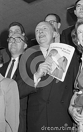 Neil Kinnock Editorial Photo
