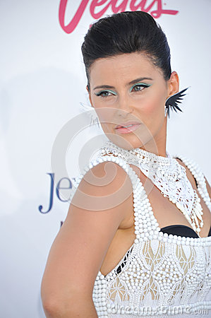 Nelly Furtado Editorial Stock Photo