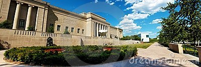 Nelson Atkins Museum Kansas City Editorial Image