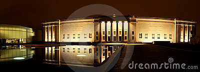 Nelson Atkins Museum at Night