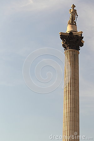 Nelson Column in London