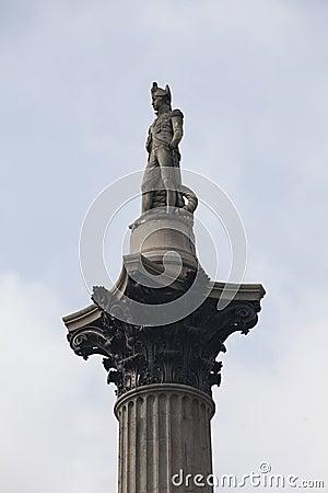 Nelson Column Trafalgar Square London