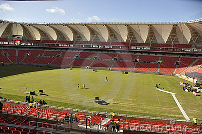 Nelson Mandela Bay multipurpose Staduim Editorial Photography