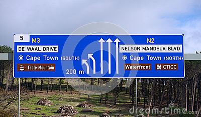 Nelson Mandela Boulevard,Cape Town