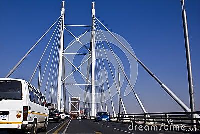 Nelson Mandela Bridge Editorial Stock Image