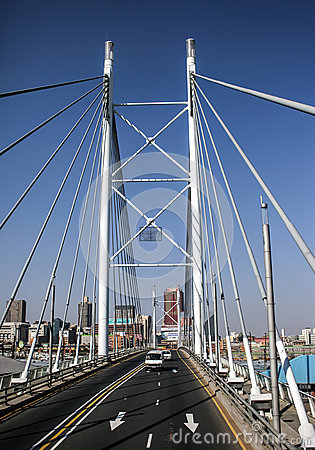Nelson Mandela Bridge Editorial Photography
