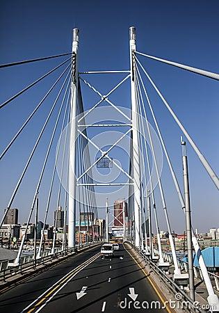 Nelson Mandela Bridge Editorial Photography