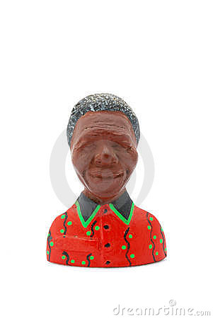 Nelson Mandela fridge magnet Editorial Photo