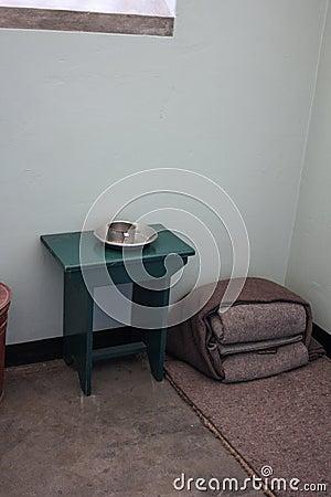 Nelson Mandela s prison Cell