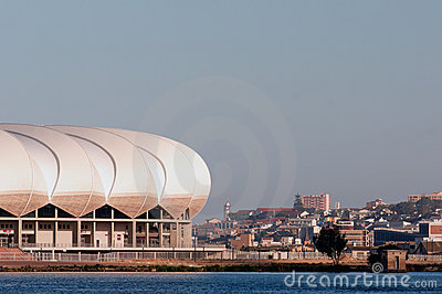 Nelson Mandela Stadium , Porth Elizabeth Editorial Stock Photo