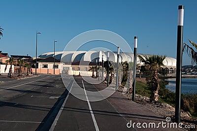 Nelson Mandela Stadium , Porth Elizabeth Editorial Photography