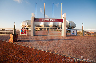 Nelson Mandela Stadium , Porth Elizabeth Editorial Stock Image