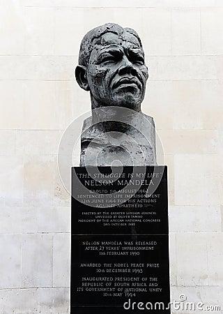 Nelson Mandela Editorial Photo