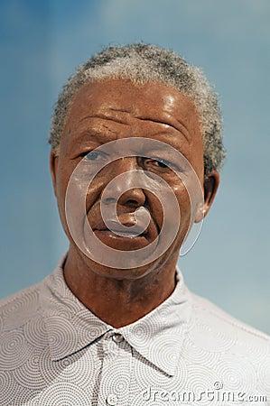 Nelson Rolihlahla Mandela Editorial Stock Image