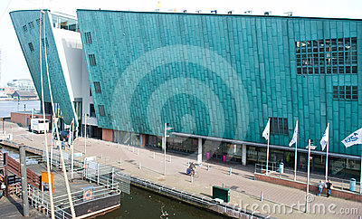 NEMO museum, Amsterdam, Editorial Stock Photo