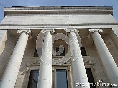 Neo classic building