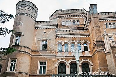 Neo-gothic Narzymski Palace