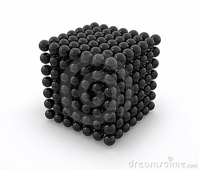 Neodym black cube