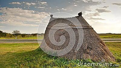 Neolithic prairie settlement