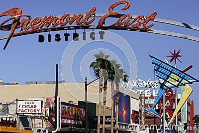 Neon Casino Signs Editorial Image