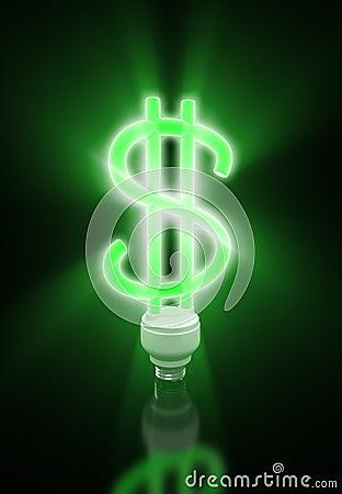Neon dollar