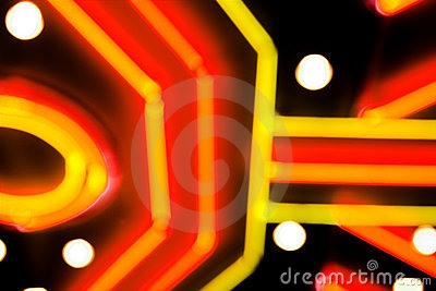 Neon gambling background