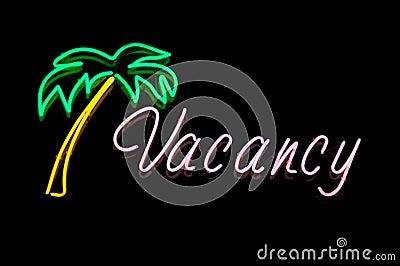 Neon Hotel Vacancy Sigg