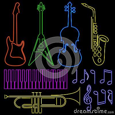 Neon instruments
