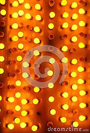 Neon lights of Las Vegas Editorial Image