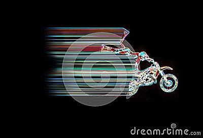 Neon Moto Jump