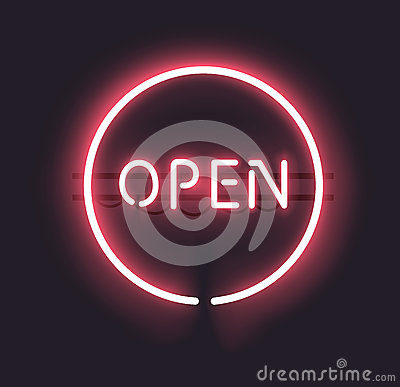 Free Neon Open Sign Stock Photo - 32323430