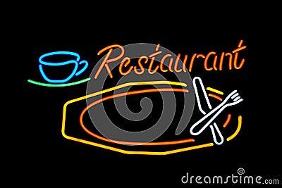 Neon restaurant