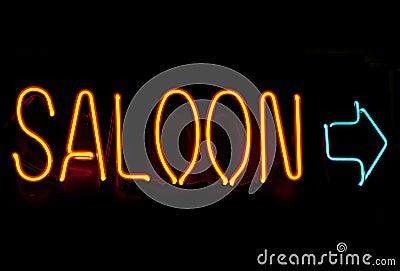 Neon saloon