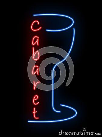 Neon sign - cabaret