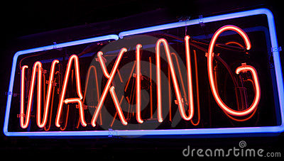 Neon Spa Waxing sign