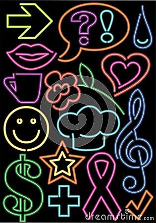 Neon Symbols/eps