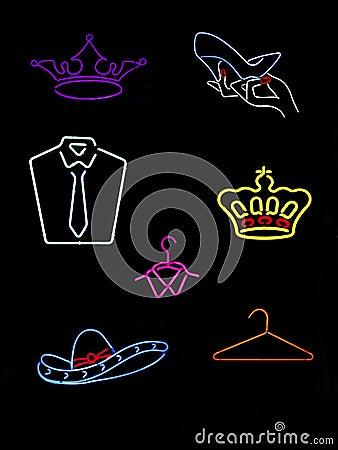 Neon Symbols & Signs