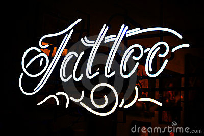 Neon Tattoo Sign
