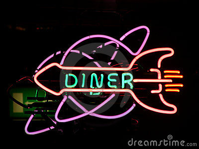 Neonsign diner