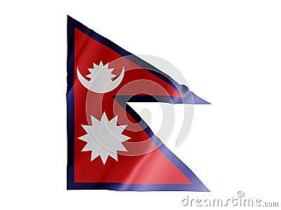 Nepal fluttering